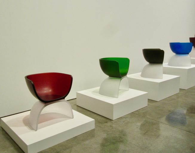 Marc Newson Glass Chairs