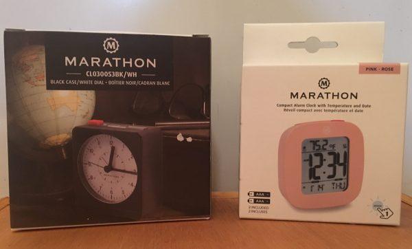Marathon Watch Company Alarm Clocks