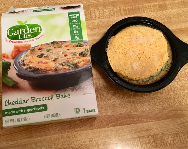 Cheddar Broccoli Bake With Packaging