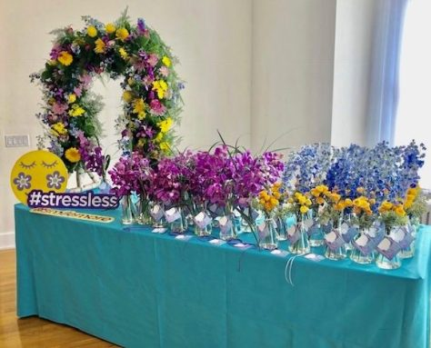 About Flowers Display