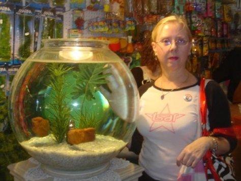 Gail in a Tsar T Shirt