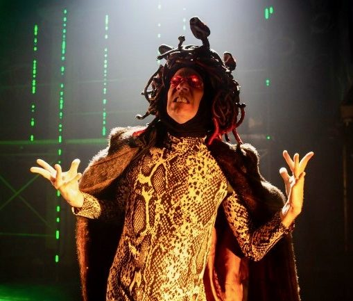 Ryan Knowles as Medusa
