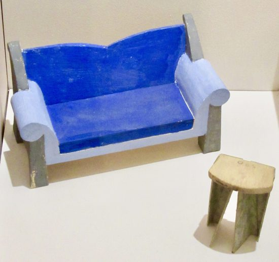 Maquette for Give and Take Sofa