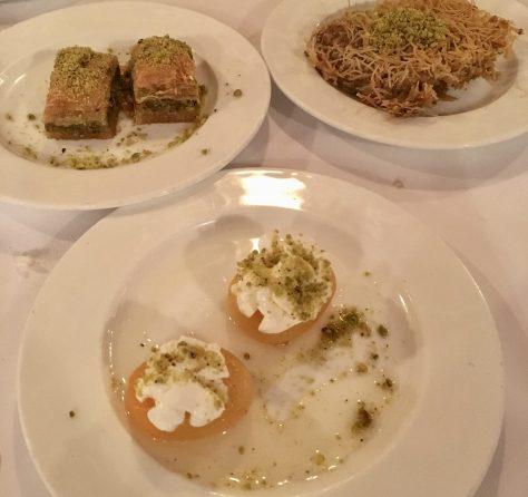 Turkish Dessert Trio