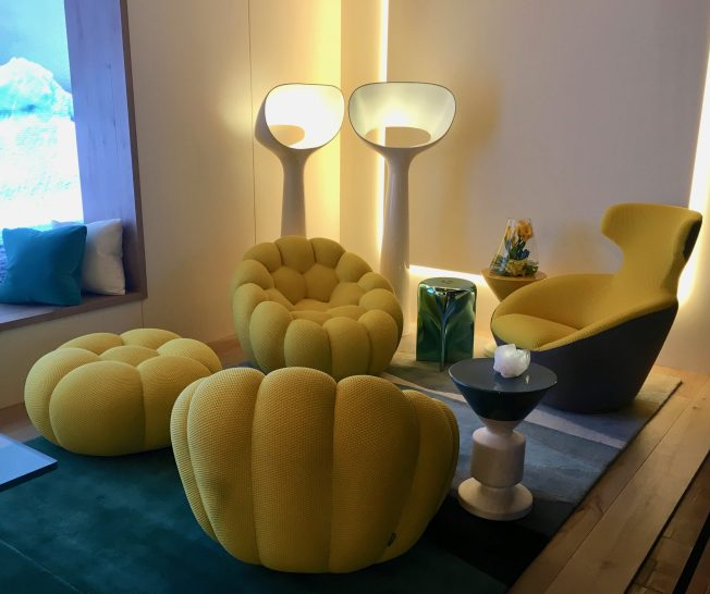 Roche Bobois Seating Area