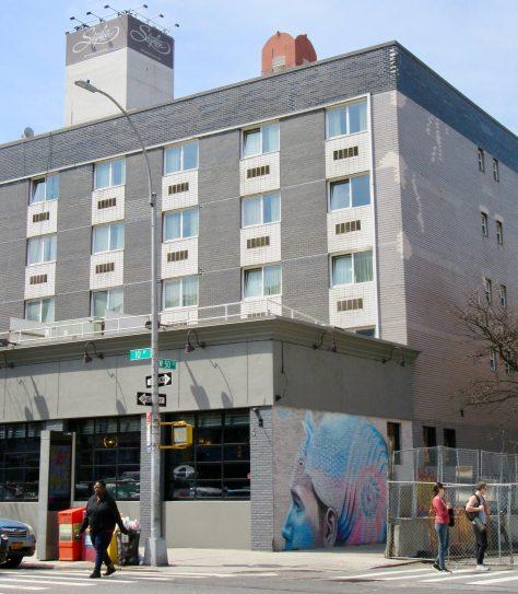 WERC Mural Site View