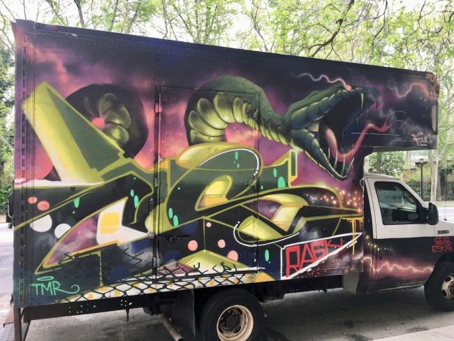 Graffiti Box Truck