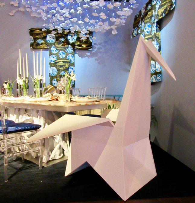 Origami Crane Chair