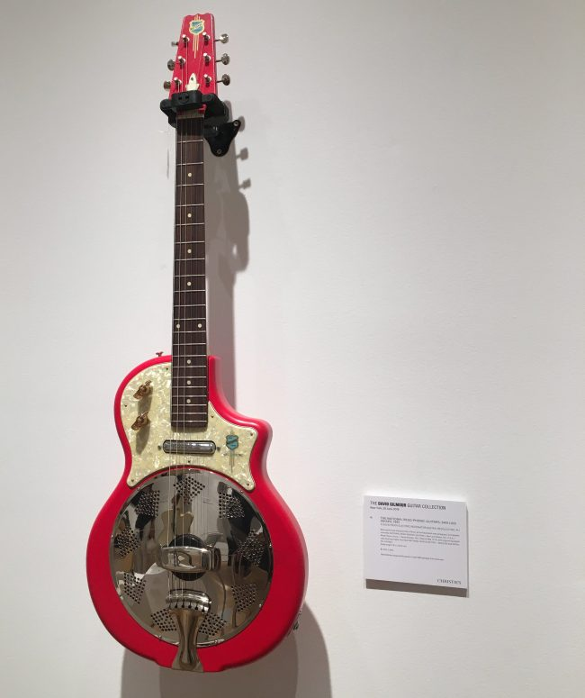 Solid Body Electric Resonator Guitar (1991)