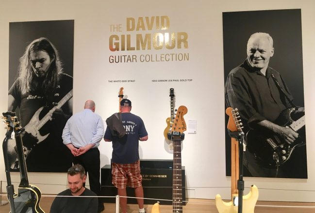 David Gilmour Guitar Backdrop