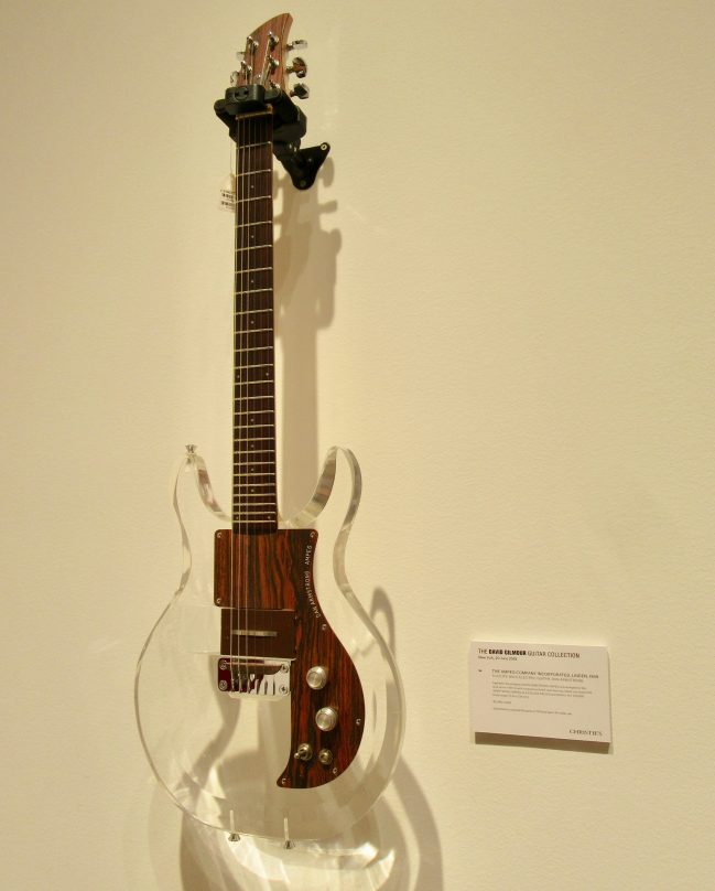 Ampeg Dan Armstrong Lucite Body Electric Guitar (1969)