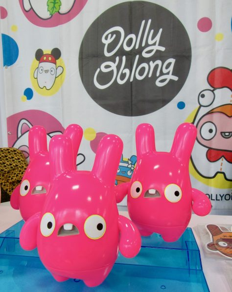 Pink Dolly Oblong