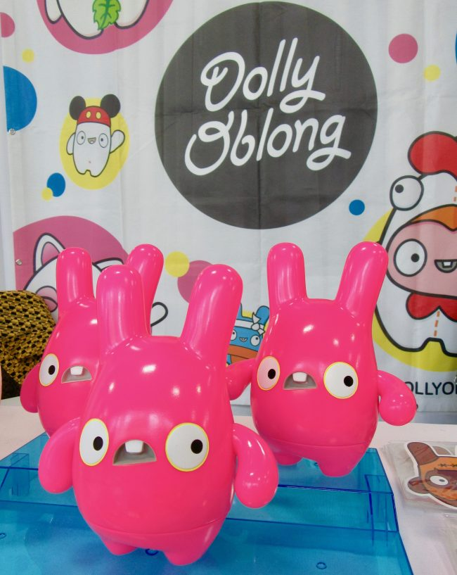 Pink Dolly Oblong