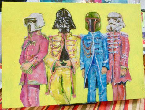 Star Wars Beatles Mash Up