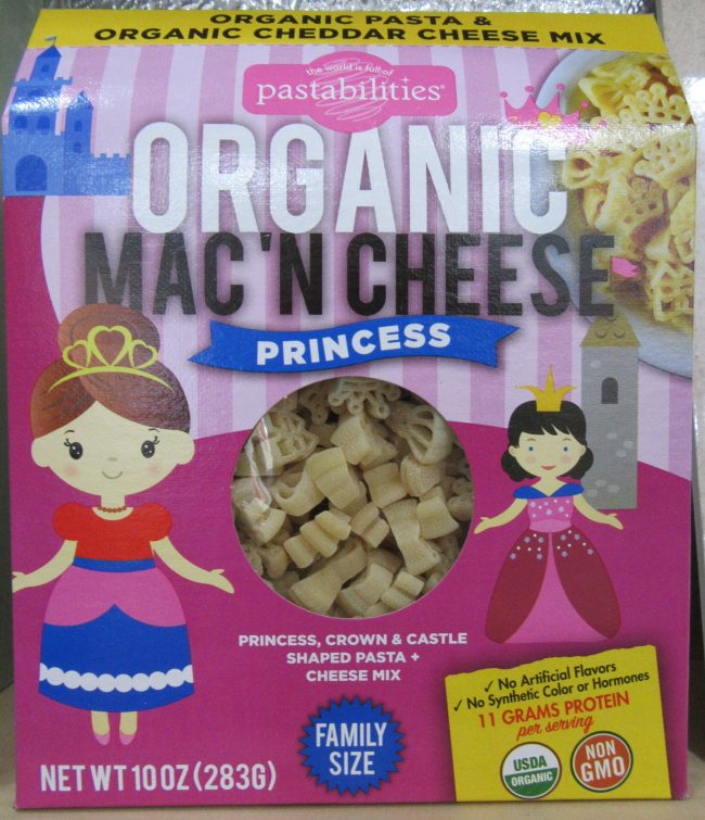 Princess Shaped Mac and Cheese