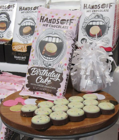 Hands Off My Chocolate Birthday Cake Truffles