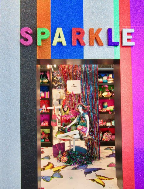 Sparkle Booth Entrance
