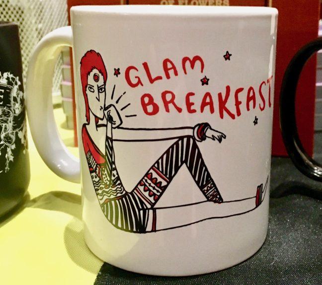 David Bowie Glam Breakfast Mug