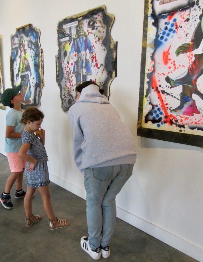 Lynzy and Art Fans