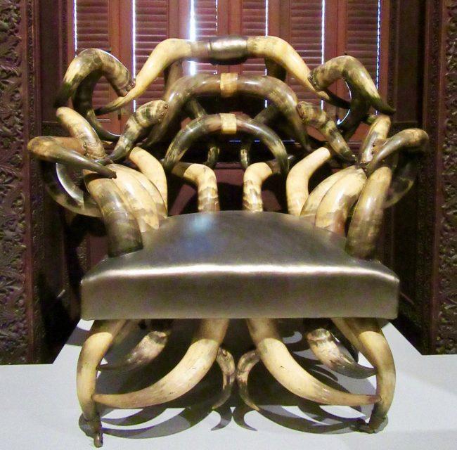 Steer Horn Chair