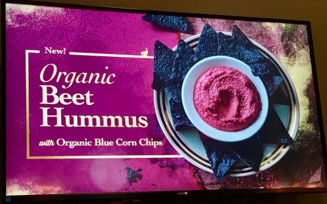 Beet Hummus Ad