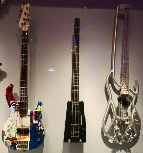 F4B Aluminum Bass Guitar Installation View