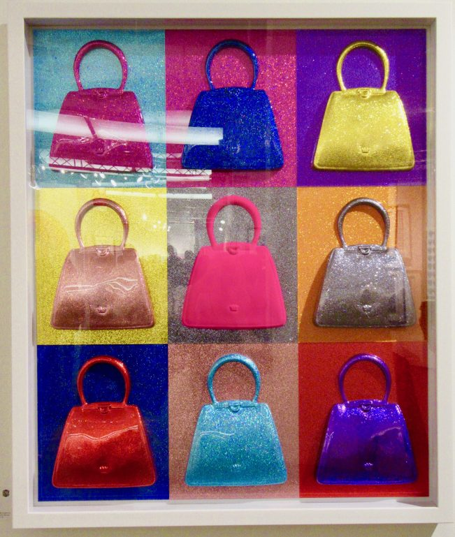 Debra Frances Bean Glitterati 3 (Pink Flock)