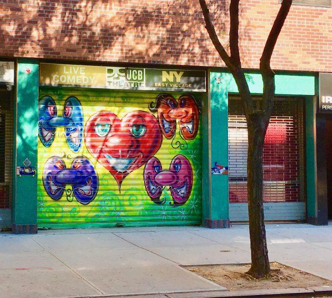 Kenny Scharf UCB Mural