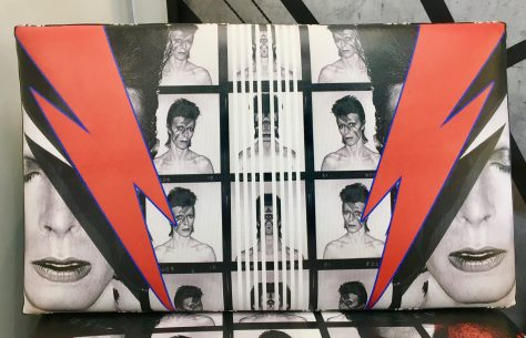 David Bowie Chair Back Detail