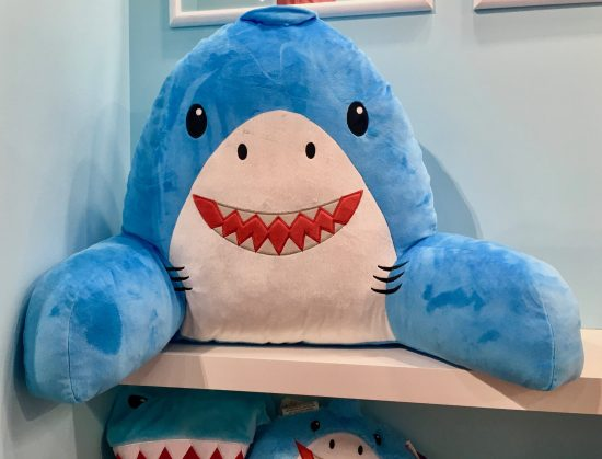 Shark Lounge Pillow By Gail Worley