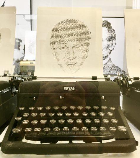 John Lennon Typewriter Photo By Gail