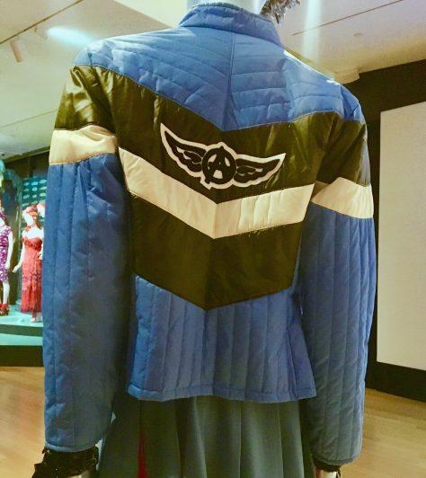 Cheerleader Jacket Back Detail By Gail Worley