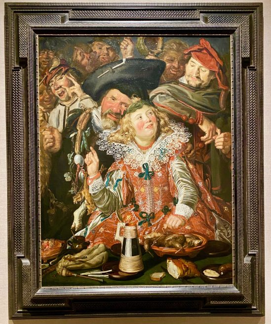 Merrymakers at Shrovetide By Frans Hals By Kat Bentley