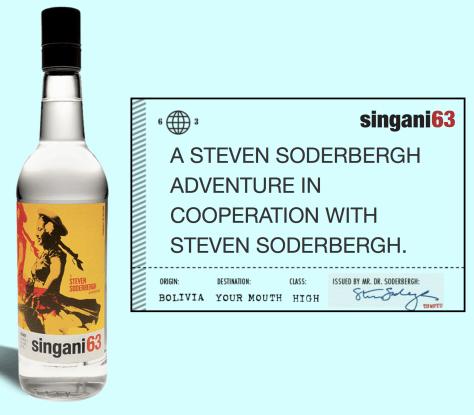 Steven Soderberghs Singani 63 Image By Gail Worley