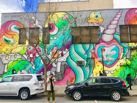 Buff Monster Mural Photo By Gail