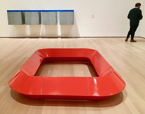donald judd at moma photo by Gail