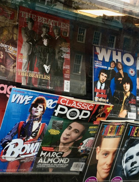 rock magazine covers photo by gail worley