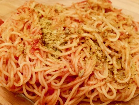 pasta with parma photo by gail worley