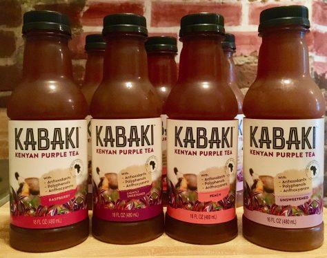 kabaki iced tea display photo by gail worley