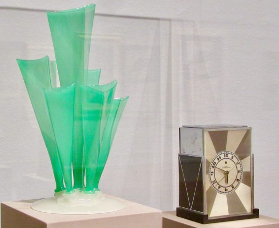 steuben glass vase photo by gail worley