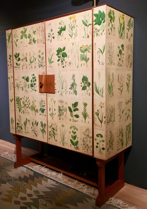 flora cabinet by josef franks photo by gail worley