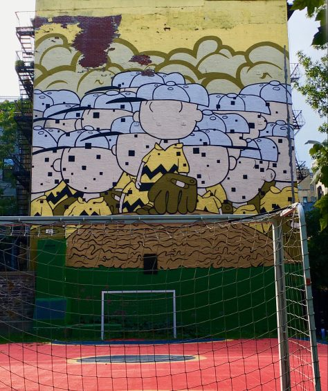 charlie brown jerkface mural photo by gail worley