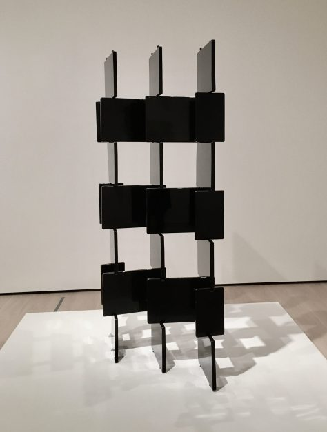 lacquered wood screen by eileen gray photo by gail worley