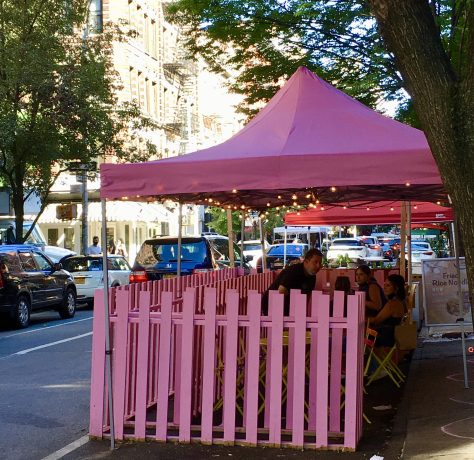 pink tent photo by gail worley