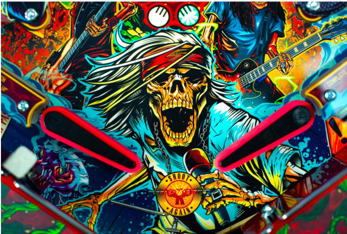 gnr pinball game