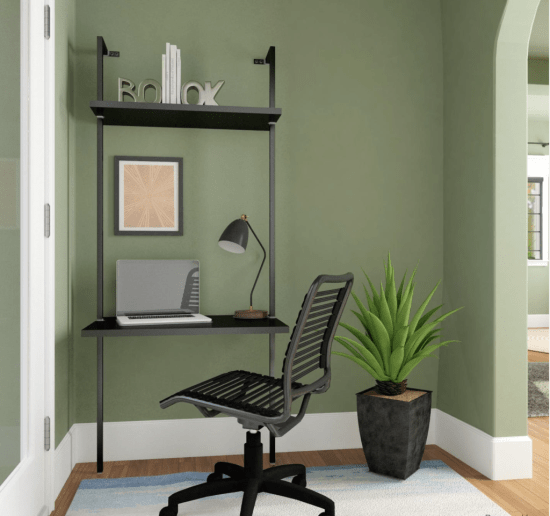 entryway office nook