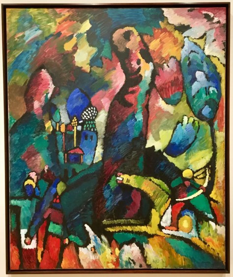 kandinsky picture with an anchor photo by gail worley