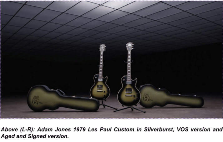 adam jones guitars