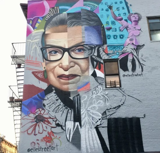 rbg mural early status photo by gail worley
