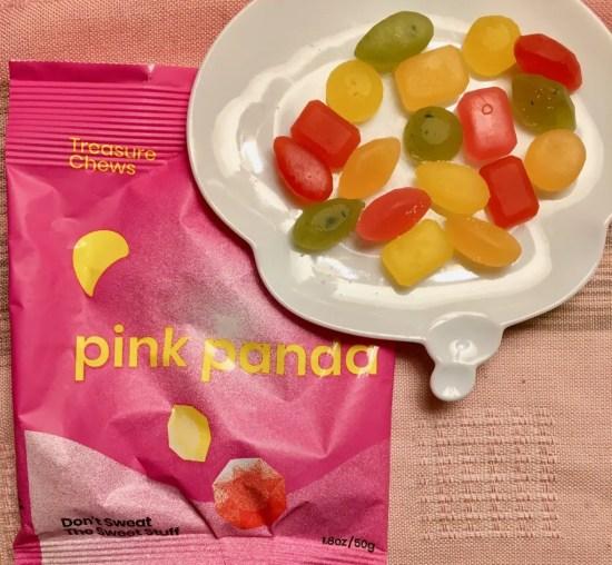 pink panda treasure chews photo by gail worley
